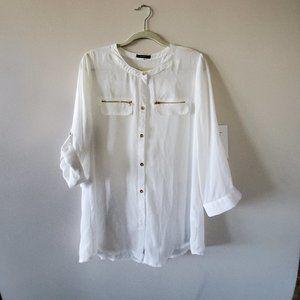Tops - White blouse s L